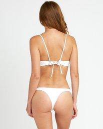 0 White Noise Skimpy Bikini Bottom White XB51URWS RVCA