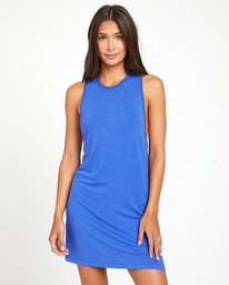 0 ANDERSON DRESS Blue XC033RAR RVCA