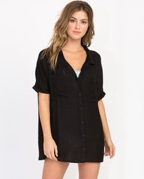 0 And Then Tunic Shirt Dress  XC05PRAN RVCA