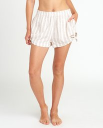 0 Sand Dollar High Waist Short White XC06URSS RVCA
