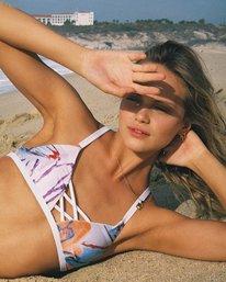 0 Sage Vaughn Floral Garden Bralette Bikini Top Multicolor XT20TRSB RVCA