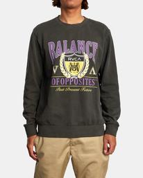 1 Cambridge - Sweatshirt for Men Black Z1CRRGRVF1 RVCA
