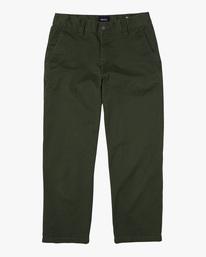 0 Kevin Spanky Long Okapi - Hose für Männer Grün Z1PTRHRVF1 RVCA