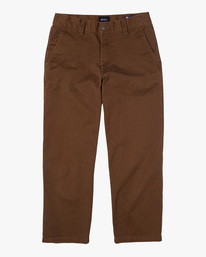 0 Kevin Spanky Long Okapi - Trousers for Men Brown Z1PTRHRVF1 RVCA