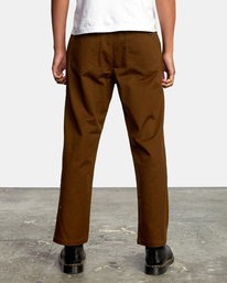 2 Kevin Spanky Long Okapi - Trousers for Men Brown Z1PTRHRVF1 RVCA