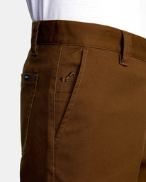 3 Kevin Spanky Long Okapi - Trousers for Men Brown Z1PTRHRVF1 RVCA