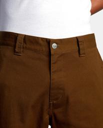 7 Kevin Spanky Long Okapi - Trousers for Men Brown Z1PTRHRVF1 RVCA