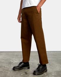4 Kevin Spanky Long Okapi - Trousers for Men Brown Z1PTRHRVF1 RVCA