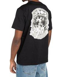 3 St Margret - T-shirt pour Homme Noir Z1SSRARVF1 RVCA