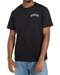 2 St Margret - T-shirt pour Homme Noir Z1SSRARVF1 RVCA