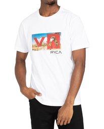 2 Balance Box - T-shirt pour Homme Blanc Z1SSRFRVF1 RVCA