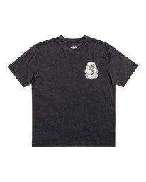 1 George Thompson Skull Bonnet - T-shirt pour Homme Gris Z1SSRMRVF1 RVCA
