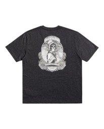 0 George Thompson Skull Bonnet - T-shirt pour Homme Gris Z1SSRMRVF1 RVCA