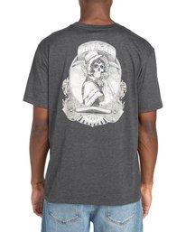 3 George Thompson Skull Bonnet - T-shirt pour Homme Gris Z1SSRMRVF1 RVCA