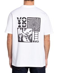 3 Void - T-shirt pour Homme Blanc Z1SSRNRVF1 RVCA