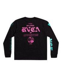 0 Cobra University - T-shirt pour Homme Noir Z1SSRPRVF1 RVCA