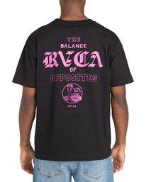 3 Cobra University - T-shirt pour Homme Noir Z1SSRPRVF1 RVCA