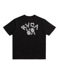 0 Peace Bones - T-shirt pour Homme Noir Z1SSRVRVF1 RVCA
