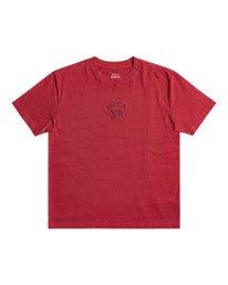 1 Peace Bones - T-shirt pour Homme Rouge Z1SSRVRVF1 RVCA