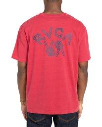 3 Peace Bones - T-shirt pour Homme Rouge Z1SSRVRVF1 RVCA