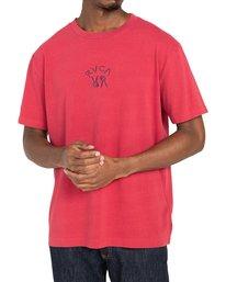 2 Peace Bones - T-shirt pour Homme Rouge Z1SSRVRVF1 RVCA