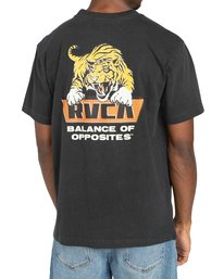 3 Clawed - T-shirt pour Homme Noir Z1SSRWRVF1 RVCA