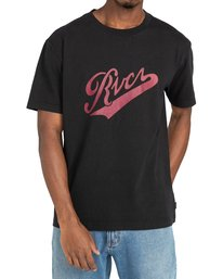 2 Pennant - T-shirt pour Homme Noir Z1SSRYRVF1 RVCA