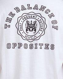 2 Rvca Seal - T-shirt pour Homme Blanc Z1SSSCRVF1 RVCA