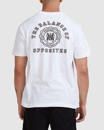 0 Rvca Seal - T-shirt pour Homme Blanc Z1SSSCRVF1 RVCA
