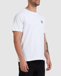 4 Rvca Seal - T-shirt pour Homme Blanc Z1SSSCRVF1 RVCA