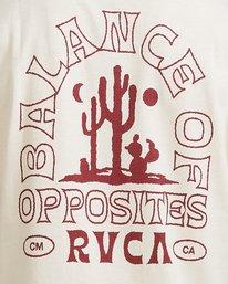 2 Joshua Tree - T-shirt pour Homme Blanc Z1SSSFRVF1 RVCA