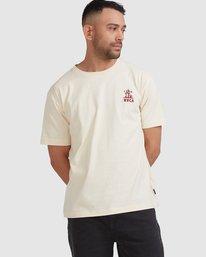 0 Joshua Tree - T-shirt pour Homme Blanc Z1SSSFRVF1 RVCA