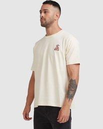 3 Joshua Tree - T-shirt pour Homme Blanc Z1SSSFRVF1 RVCA