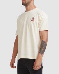 5 Joshua Tree - T-shirt pour Homme Blanc Z1SSSFRVF1 RVCA