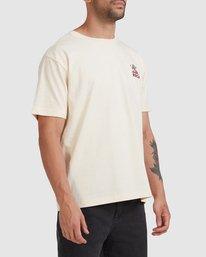 6 Joshua Tree - T-shirt pour Homme Blanc Z1SSSFRVF1 RVCA