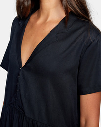 2 Southbound - Robe midi pour Femme Noir Z3DRRNRVF1 RVCA
