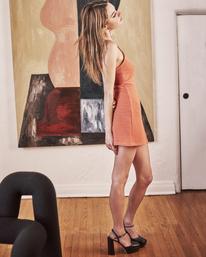 0 Camille Rowe Frankie - Tank Dress for Women Orange Z3DRRQRVF1 RVCA