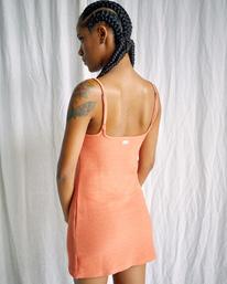 2 Camille Rowe Frankie - Tank Dress for Women Orange Z3DRRQRVF1 RVCA