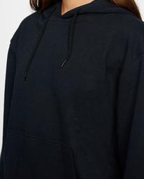 2 Recession - Sudadera con Capucha para Mujer Negro Z3HORFRVF1 RVCA