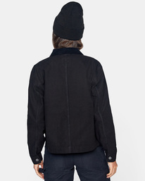 1 Recession - Chore Coat for Women Black Z3JKRKRVF1 RVCA
