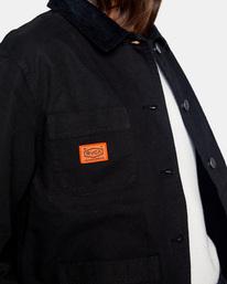 2 Recession - Chore Coat for Women Black Z3JKRKRVF1 RVCA