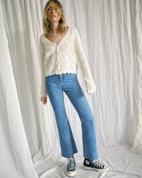 4 Camille Rowe Livin' - High Waisted Jeans for Women Blue Z3PNRBRVF1 RVCA