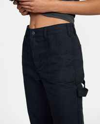 2 Recession - Chinos for Women Black Z3PTRMRVF1 RVCA