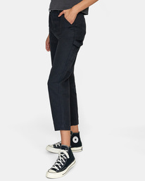 4 Recession - Chinos for Women Black Z3PTRMRVF1 RVCA