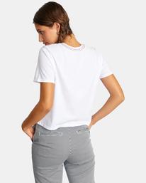 1 Recession Vanagain - T-Shirt for Women White Z3SSSARVF1 RVCA