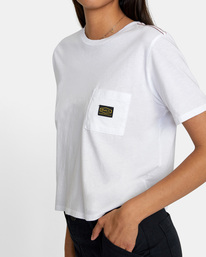 2 Recession Vanagain - Camiseta para Mujer Blanco Z3SSSARVF1 RVCA
