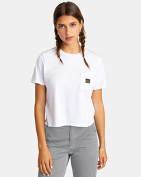 0 Recession Vanagain - T-Shirt for Women White Z3SSSARVF1 RVCA