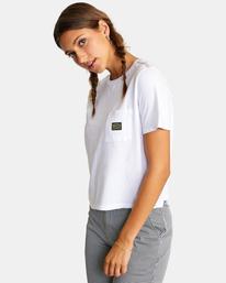 4 Recession Vanagain - Camiseta para Mujer Blanco Z3SSSARVF1 RVCA