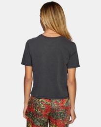 1 Recession Vanagain - Camiseta para Mujer Negro Z3SSSARVF1 RVCA