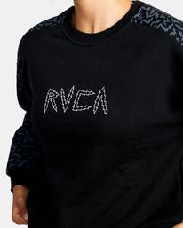 2 Matt Leines Hustle - Sweat pour Femme Noir Z4CRWARVF1 RVCA